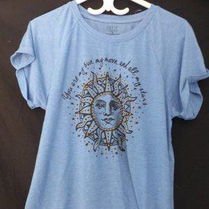 FREEZE, large, blue short sleeve tee, BNWOT